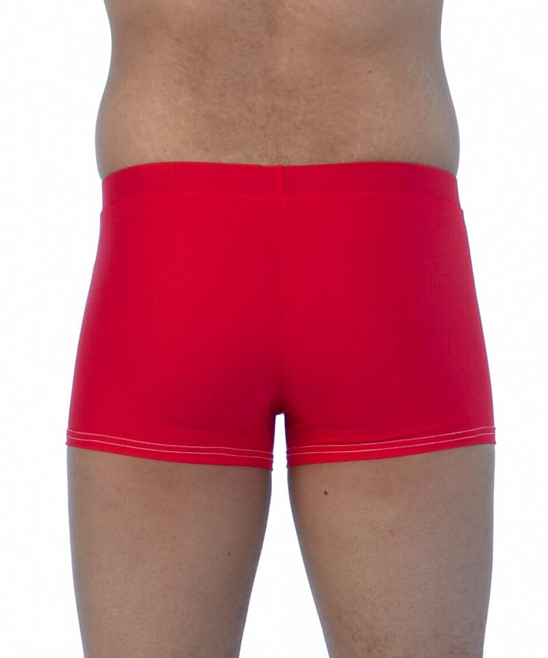 Red Swim Trunks | Slim fit
