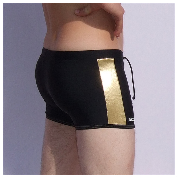 Mens Swmming Trunks - Black   Gold - Swm Trunks for Men 5b9028a79