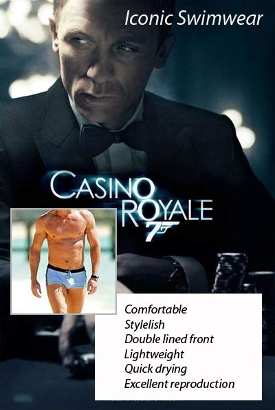 James Bond Swim Trunks